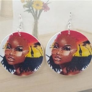 African Pride Earrings